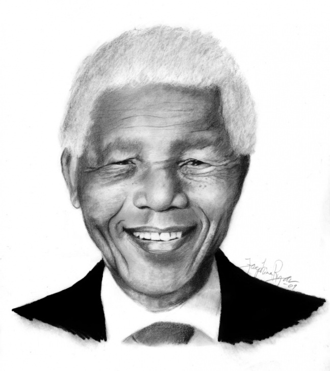 Best Pencil Sketch Of Nelson Mandela Step by Step Nelson Mandela – Miriel Design Photos