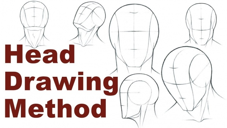 Best Portrait Drawing For Beginners Simple Portrait Drawing Basics 1/3 - How To Draw A Simple Head Pictures