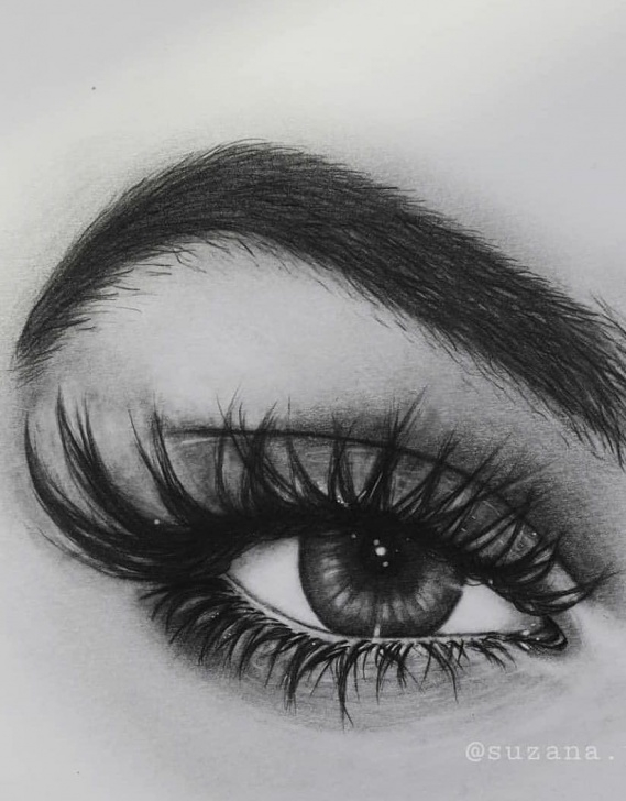 Best Realistic Eye Pencil Drawing Tutorial 36 Awesome Eye Drawing Images ! How To Draw A Realistic Eye! - Page Image