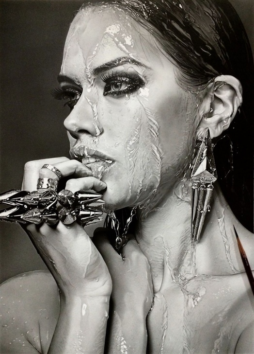 Realistic Pencil Art