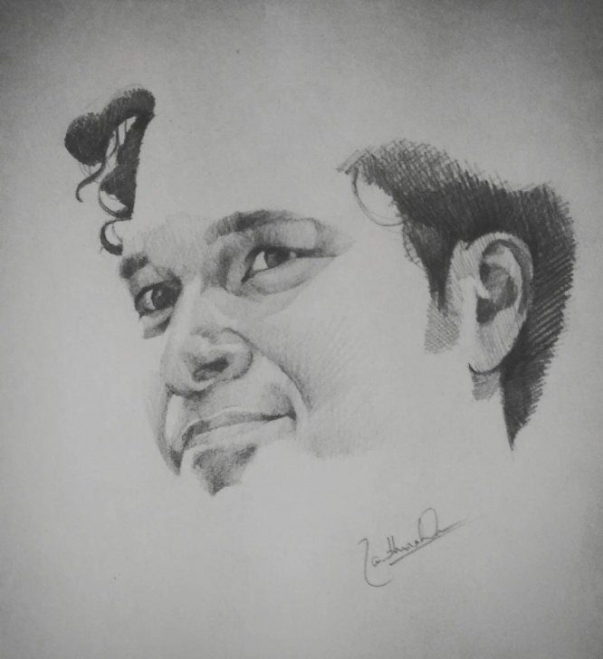 Best Sachin Tendulkar Pencil Sketch Tutorials Sachin Tendulkar Pencil Sketch. Pencil On Paper | Portraits And Photo