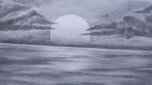 Best Sea Pencil Drawing for Beginners How To Sketch Sunset Photos