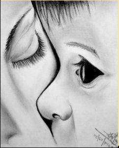 Best Simple Pencil Drawings Of Mother And Baby Easy Simple Baby Sketch At Paintingvalley | Explore Collection Of Photos