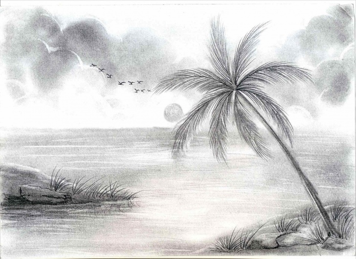 Best Sketches Of Nature Beauty Ideas Drawing For Nature Of Beauty And Beautiful Sketches Of Nature Picture