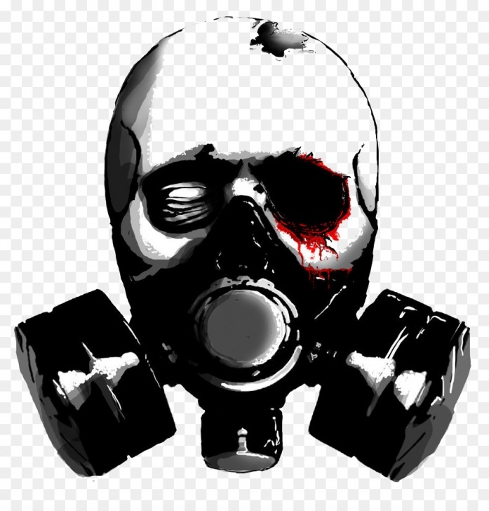 Best Skull Graffiti Stencil Ideas Graffiti Skull Png Download - 863*926 - Free Transparent Gas Mask Picture