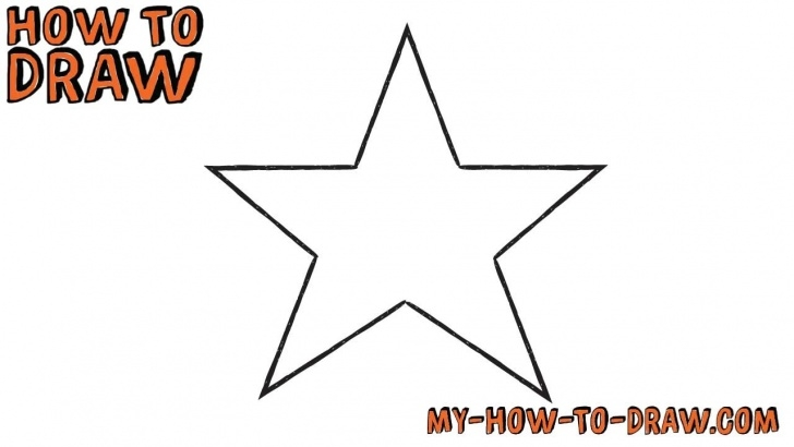 Best Star Pencil Drawing Lessons How To Draw A Star *super Easy* - Easy Step-By-Step Drawing Tutorial Picture