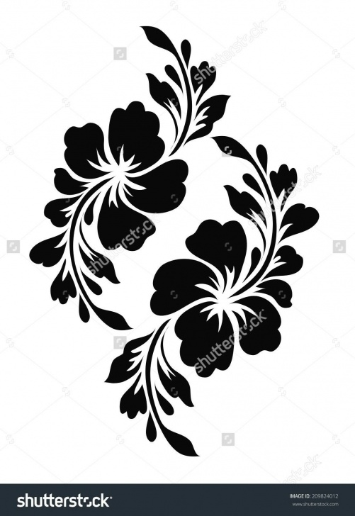 Best Stencil Art Flowers Tutorials Pin By Frostie Whinery On Scrollwork | Stencil Patterns, Stencil Pictures