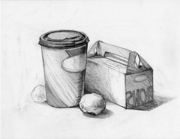 Best Still Life Sketch Drawing Techniques for Beginners Still Drawing Sketch And Easy Still Life Draw Easy Still Life Sketch Photos