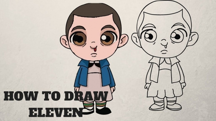 Best Stranger Things Drawing Easy Lessons How To Draw Eleven | Stranger Things Step By Step | Drawing In 2019 Pictures