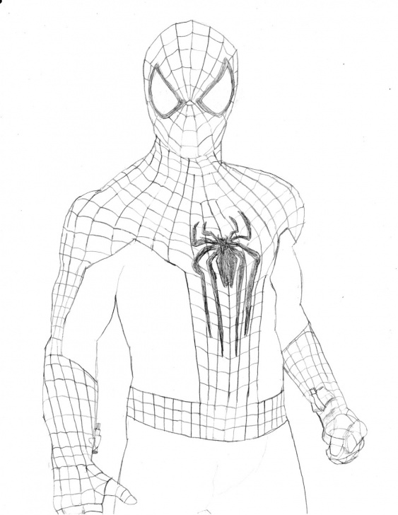 Best The Amazing Spider Man Drawing In Pencil Easy Spider Man Sketch Easy At Paintingvalley | Explore Collection Of Photos