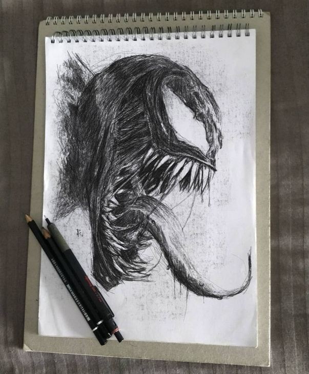Best Venom Pencil Art Techniques for Beginners Venom Is So Amazing | Drawings In 2019 | Marvel Drawings, Venom Pic
