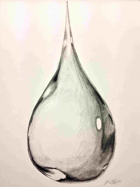 Best Water Drop Pencil Drawing Easy Water Drop Pencil Drawing At Paintingvalley | Explore Collection Picture