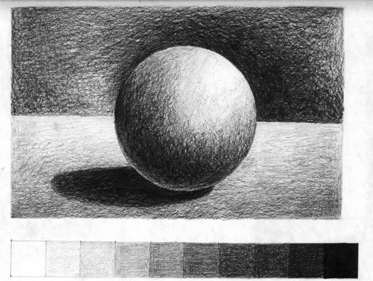 Excellent 3D Shading Drawing Simple Tone For Beginners Westhoughton Art Group | Pencil Art, Drawing Photos