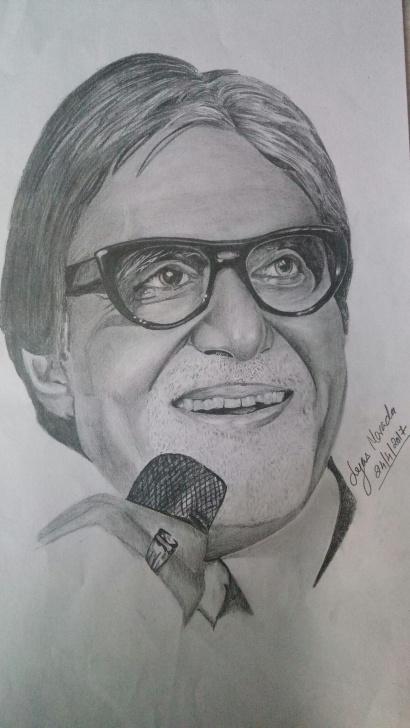 Excellent Amitabh Bachchan Pencil Sketch Courses Amitabh Bachchan Sketch Pencil Drawing | Favs In 2019 | Sketches Pic