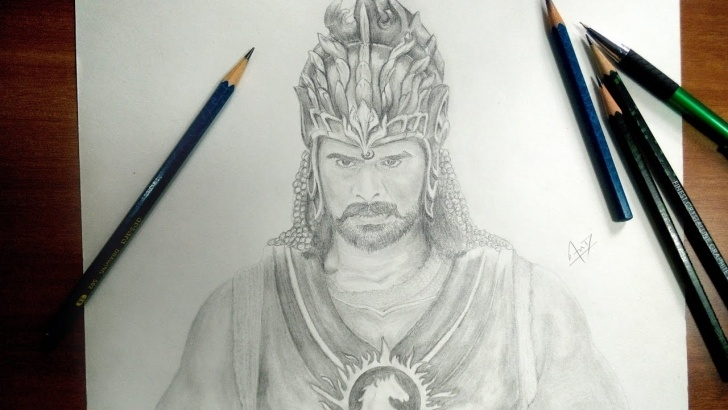 Excellent Bahubali 2 Pencil Sketch Easy Bahubali 2 | Speed Drawing Picture