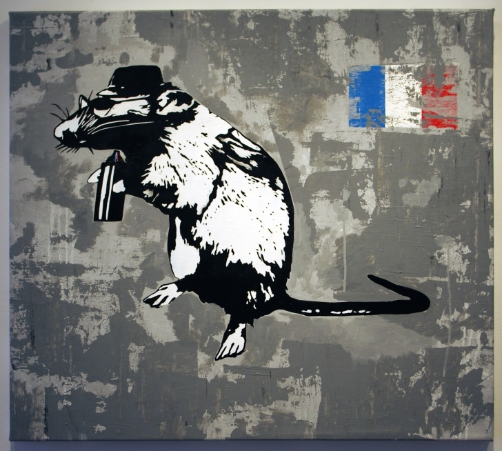 Excellent Best Stencil Artists Simple Artist Interview: Blek Le Rat | Streetartnews | Streetartnews Pics