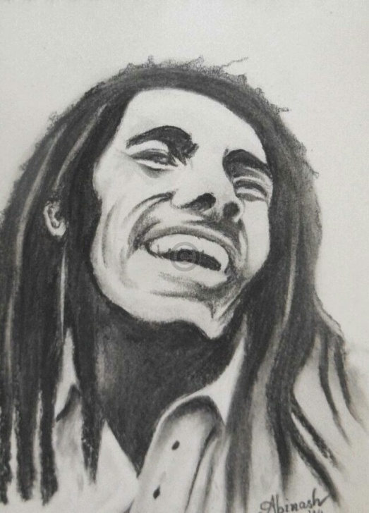 Excellent Bob Marley Pencil Sketch Step by Step Bob Marley Pencil Portrait| Sketch | Artoreal Pictures
