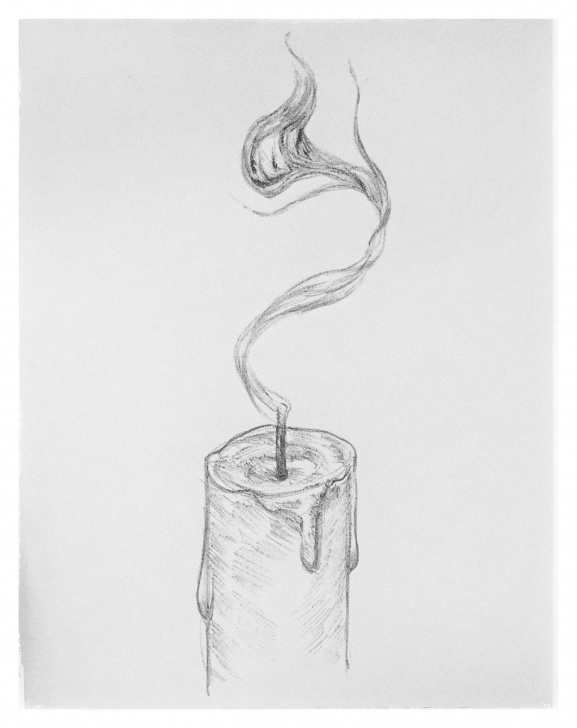 Excellent Candle Pencil Drawing Easy 8 #smoke #spirit #ghost #candle #character #pencil #cartoon #sketch Photos