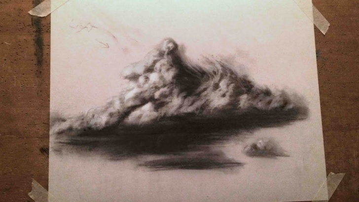 Excellent Cloud Pencil Drawing Courses How To Draw A Realistic Cloud (A Basic Tutorial For Beginners) Images