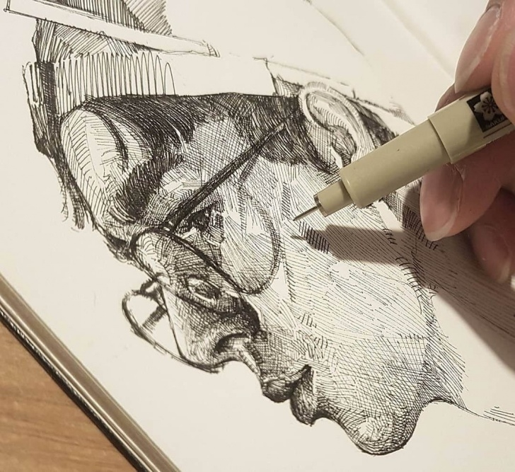 Excellent Different Pencil Drawing Easy Expressions In Different Pencil Portrait Styles In 2019 | Paint Me Picture