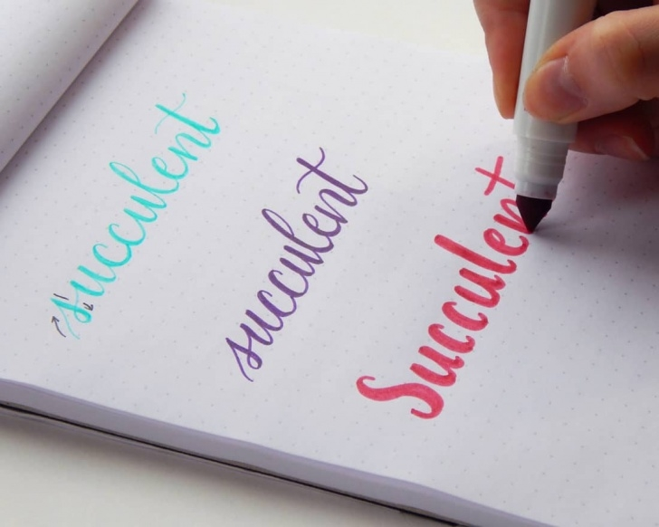 Excellent Easy Calligraphy With Pencil Simple Faux Calligraphy - Learn How To Create Gorgeous Lettering The Easy Picture