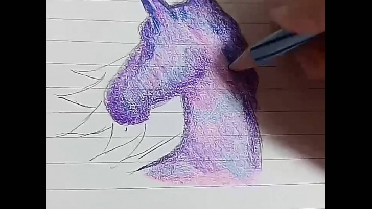 Excellent Galaxy Drawings With Colored Pencils Step by Step Galaxy Drawing Color Pencil At Paintingvalley | Explore Photo