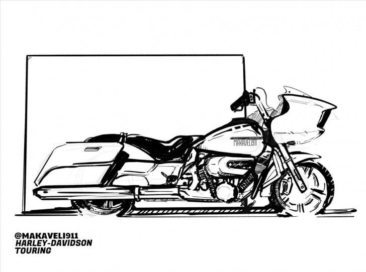 Excellent Harley Davidson Pencil Drawings Courses Pencil Drawing Of Harley Davidson - Gigantesdescalzos Images
