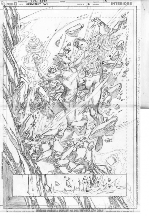 Excellent Ivan Reis Pencils Courses Pencils Of Brightest Day 16 Page 14 By Ivan Reis | Comic Art | Comic Images