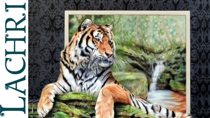 Excellent Lachri Fine Art Colored Pencil for Beginners Tiger In Colored Pencil - Time Lapse Tutorial By Lachri Photos