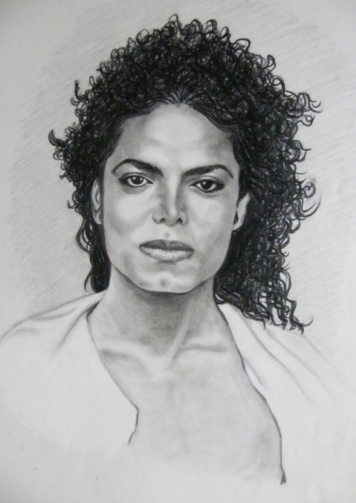 Michael Jackson Pencil Drawing