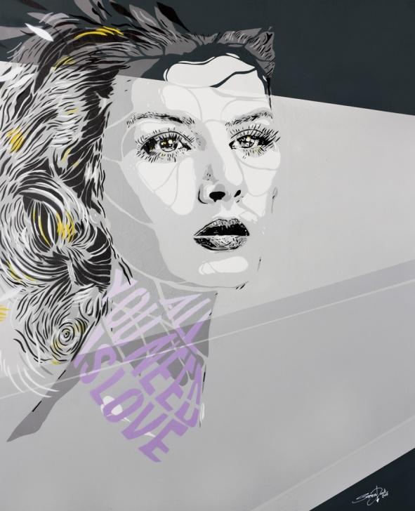 Excellent Multi Layer Stencil Art Ideas All You Need Is Love - Multi Layer Stencil Art By Stephen Quick Pic