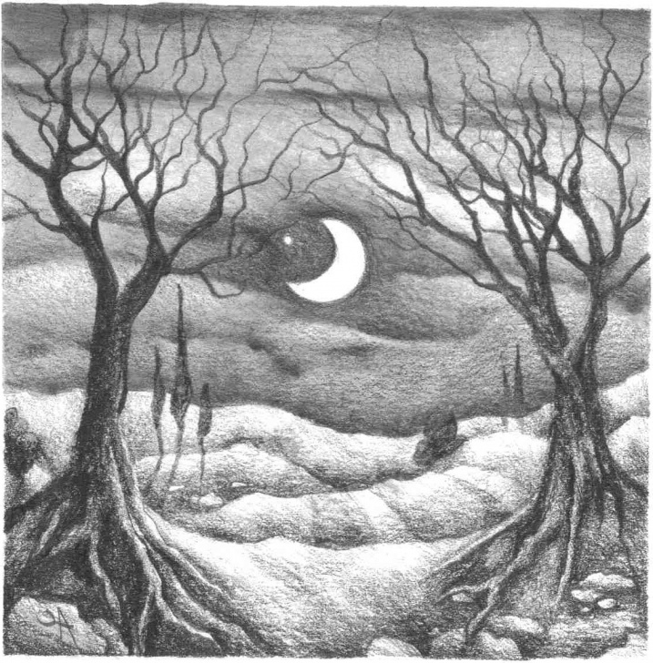 Excellent Nature Pencil Art Free Pencil Sketches Of Nature At Paintingvalley | Explore Collection Pictures