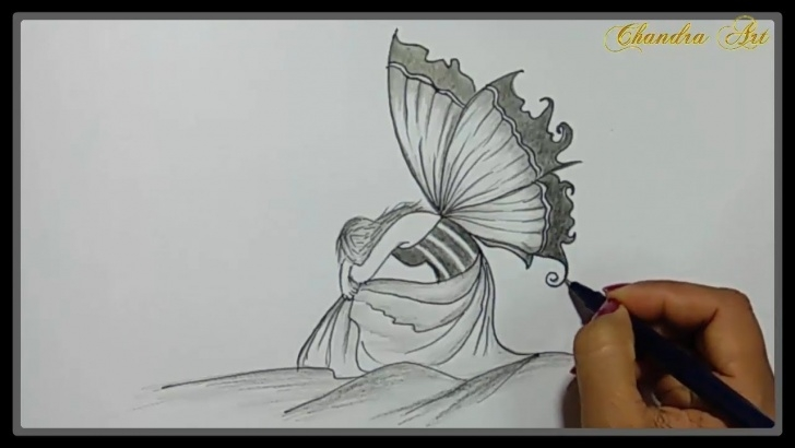 Excellent Nice Pencil Drawings Techniques Cool Easy Drawings - Pencil Drawing A Beautiful Sad Picture ➤Easy Picture