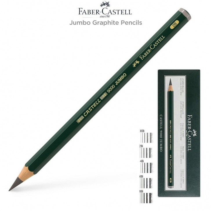 Excellent Order Of Graphite Pencils Free Faber-Castell 9000 Jumbo Graphite Pencils & Pencil Sets - Jerry's Picture