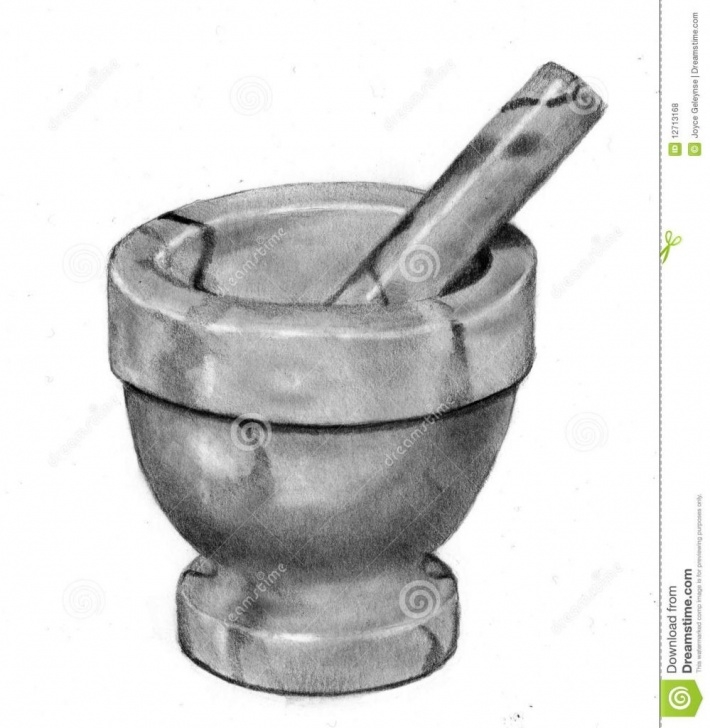 Excellent Pencil Drawings Of Objects Step by Step Pencil Drawings Of Objects Pencil Drawing Of Mortar And Pestle Image