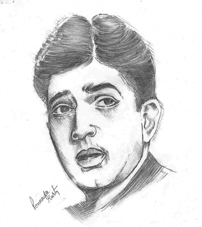 Excellent Pencil Sketch Of Famous Indian Personalities Step by Step Pencil Sketch Of Famous Indian Personalities Picture