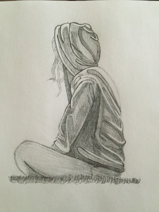 Excellent Pencil Sketches Of Loneliness Step by Step Loneliness Paintings Search Result At Paintingvalley Pictures