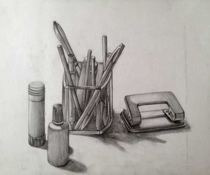 Excellent Pencil Sketches Of Objects Simple Objects Paintings Search Result At Paintingvalley Photos
