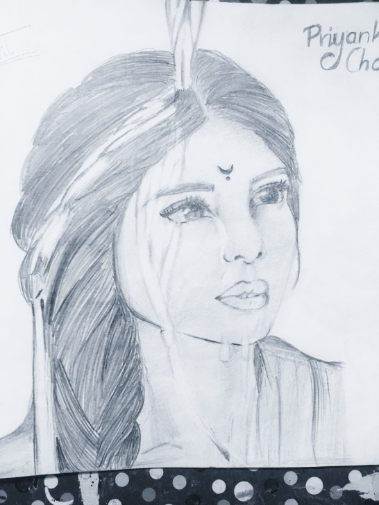 Excellent Priyanka Chopra Pencil Sketch Ideas Priyanka Chopra Pencil Sketch #priyankachopra | Pencil Sketches Image
