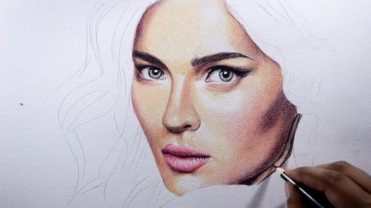Excellent Realistic Colored Pencil Drawings Lessons How To Draw Skin -- Basic Tips With Colored Pencils. Images
