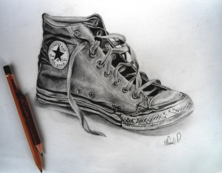 Excellent Shoe Pencil Drawing Techniques for Beginners Sketches Of Shoes At Paintingvalley | Explore Collection Of Picture