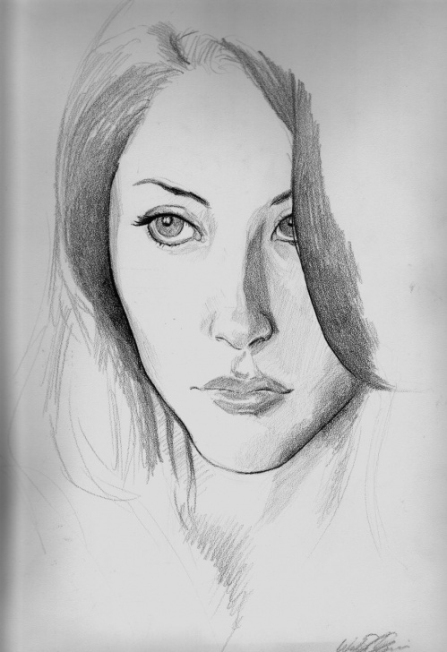 Simple Pencil Sketch Drawing