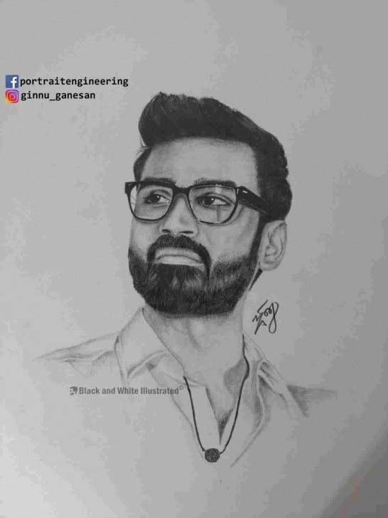 Excellent Sivakarthikeyan Pencil Drawing Tutorial How To Draw Sivakarthikeyan Pic