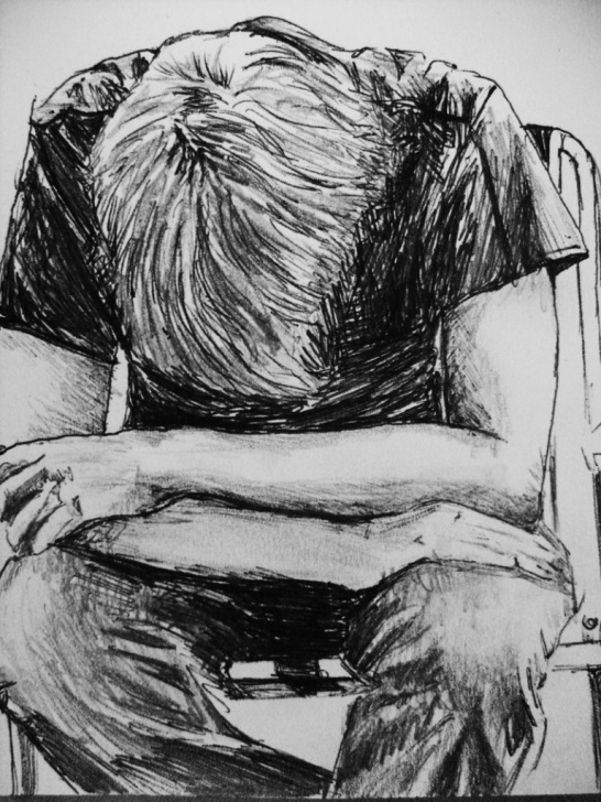 Excellent Sketching Alone Boys Techniques Alone Sketch At Paintingvalley | Explore Collection Of Alone Sketch Photo