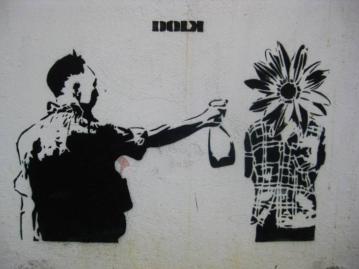 Excellent Stencil Street Artists Techniques Dolk (Artist) - Wikipedia Images