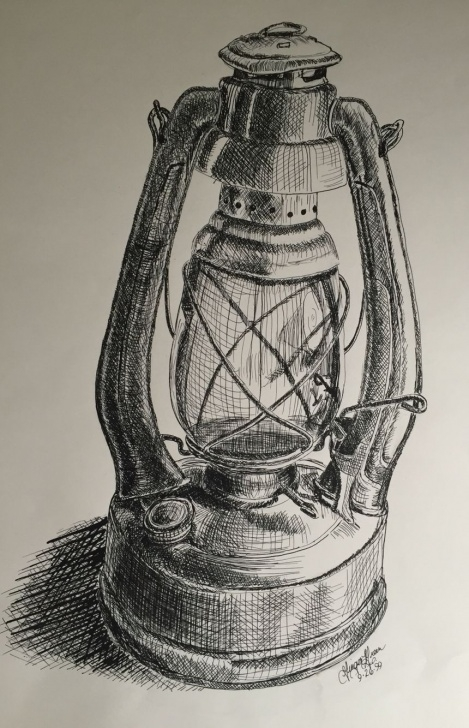 Excellent Still Life Sketch Drawing Tutorial Study Of Still Life Using Pen And Ink | Pen And Ink | Pencil Images
