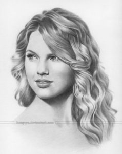 Excellent Taylor Swift Pencil Sketch Techniques for Beginners Taylor Swift Drawing   Art & Drawing   Taylor Swift Drawing, Taylor Pictures