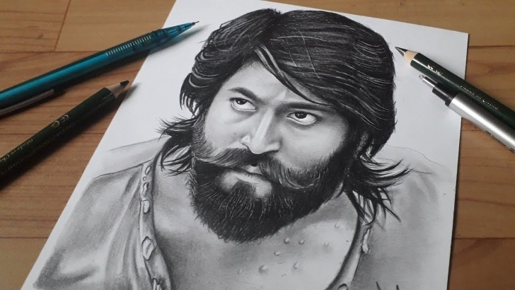 Yash Pencil Sketch