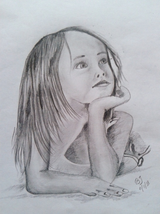 Fantastic Baby Girl Pencil Drawing for Beginners Pencil Sketch Of A Baby Girl | Desipainters Images