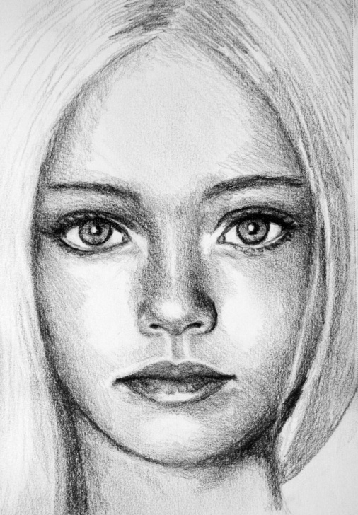 Beautiful Face Sketch